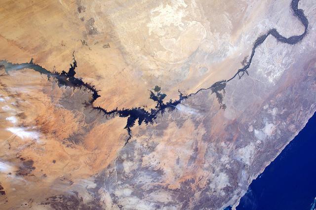 Lago Nasser y Nilo