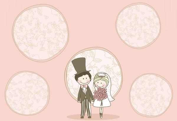Fondos para álbumes de boda