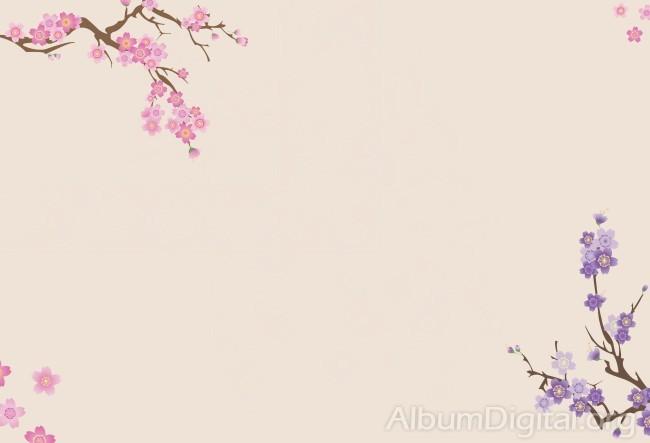 Fondo Primavera álbum Classic Flores Violetas: Fondos De Primavera Hofmann