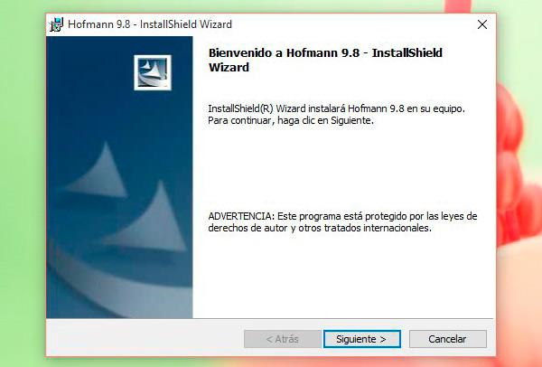 Instalando Hofmann en Windows 10 - Primer paso