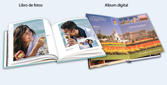 Diferencias Libro de fotos y álbum digital
