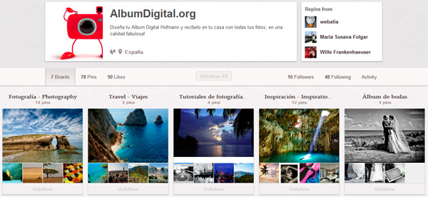 Album Digital en Pinterest