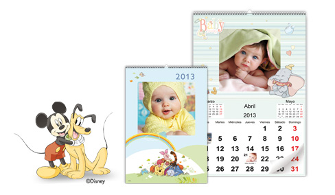 Calendario de Pared Disney Classic 30x45 cm