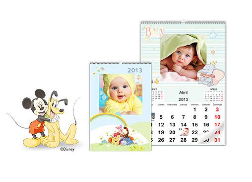 Calendario de Pared Disney Classic. Con Hofmann podrás diseñar tu calendario con los personajes Disney