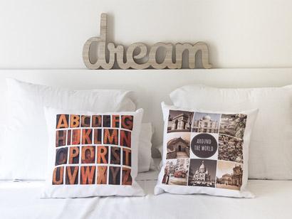Ahora puedes personalizar tu casa con los cojines personalizados Hofmann
