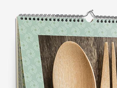 Calendario online de pared Hofmann de 30x40cm