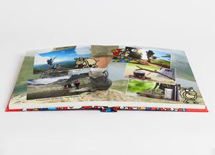 Álbum fotográfico Kukuxumusu, el álbum de fotos más divertido