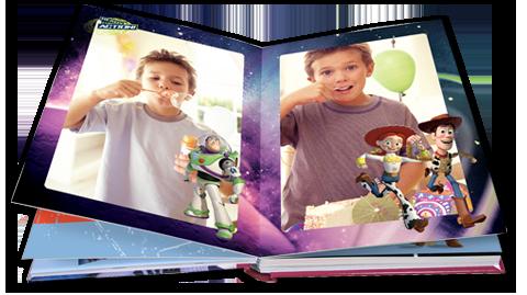 Álbum de fotos con los personajes de Toy Story