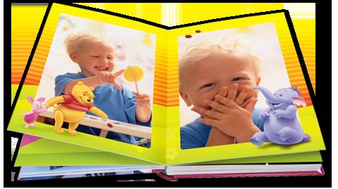 Álbum de fotos Winnie de Pooh.