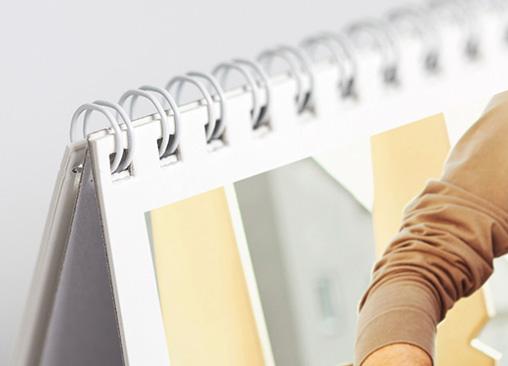 Calendarios de sobremesa Hofmann, ideal para la mesa de tu oficina o despacho