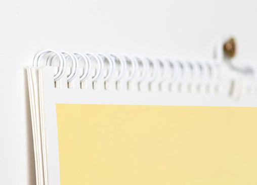 Calendario de Pared Planning. Planifica tus días con el calendario Hofmann