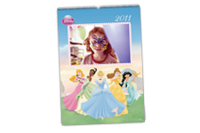 Calendario de Pared Princesas Disney (Grande)
