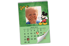 Calendario de Pared Mickey Mouse Disney (Grande)