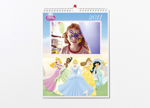 Calendario de princesas Disney, ideales para el día a día de tus niñas