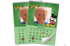 Calendario de Pared Mickey Mouse Disney (Mediano)