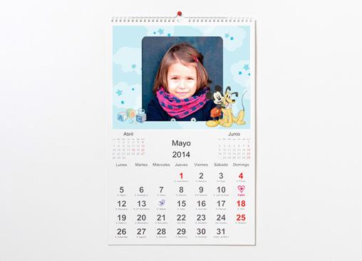 Diseña tu calendario de Mickey Mouse y adorna su día a día con el ratoncito más famoso de Disney