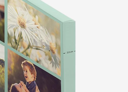 Lienzo Collage Hofmann, imprime tus fotos en tela de lienzo