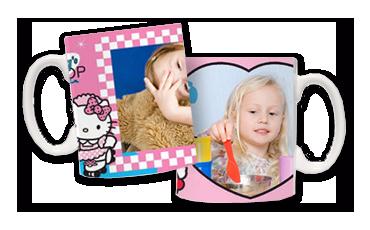 Tazas Hello Kitty. El desayuno más fashion con la gatita mas guay del mundo.