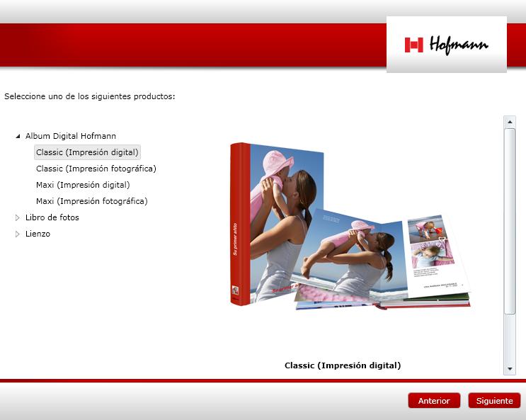 Seleciona el producto hofmann para Mac