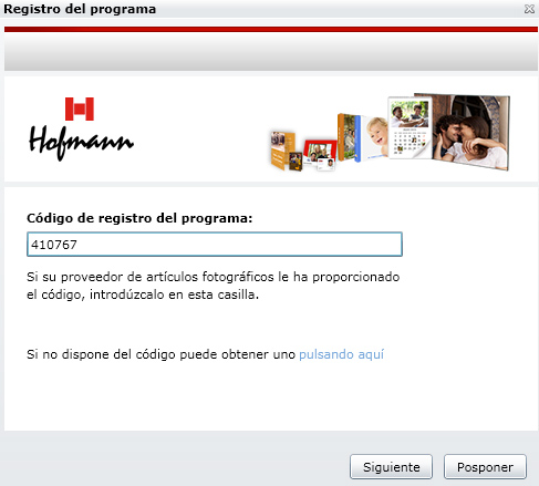 codigo registro hofmann mac